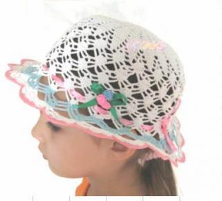 Шляпа вязаная крючком
