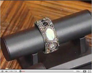 Видео браслет из бисера