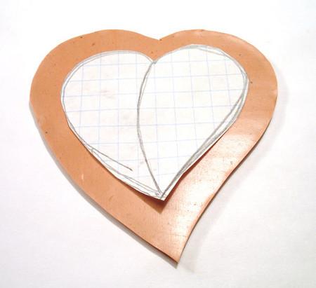 Как сделать два сердечко