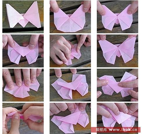 Красивая розовая Бабочка