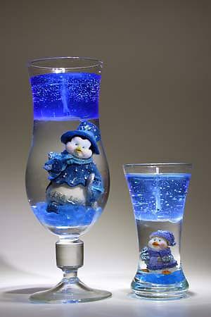 Свечи голубые приготовление