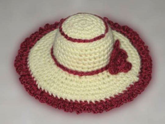 Шляпа игольница
