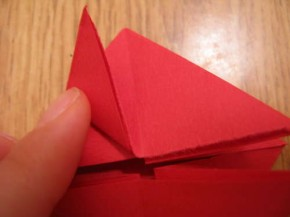 Step-5-fold-flaps-toward-vertex-of-the-triangle