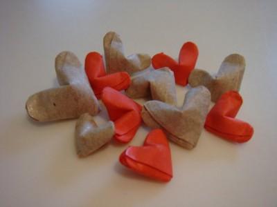 Сердечко оригами на День Святого Валентина
