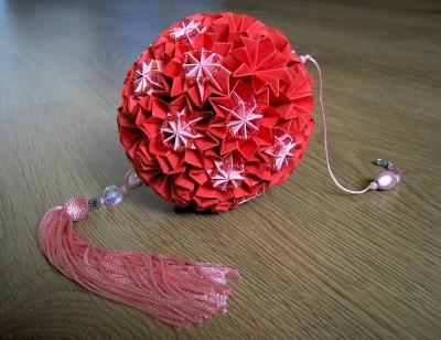Японский шар кусудам