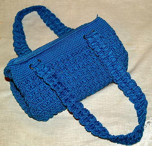 сумочка вязаная крючком