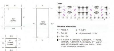 ТОП С ЗАПАХОМ вязание спицами и крючком