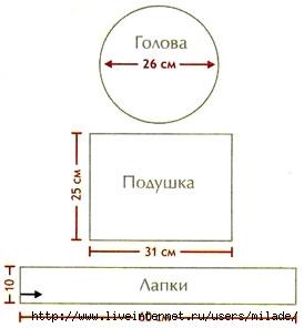 Сидушка-подушка вязание крючком)