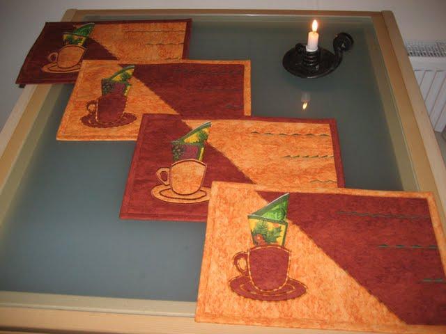 Сшить салфетки для сервировки стола своими руками