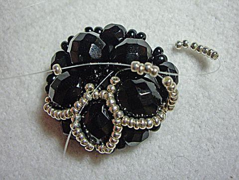Beaded pendant