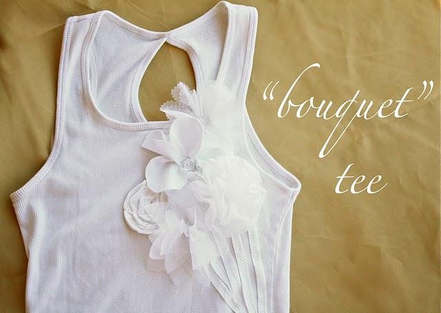 Украшаем блузку цветком из ткани