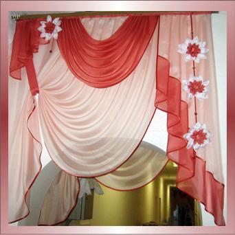 Цветы для штор своими руками из ткани