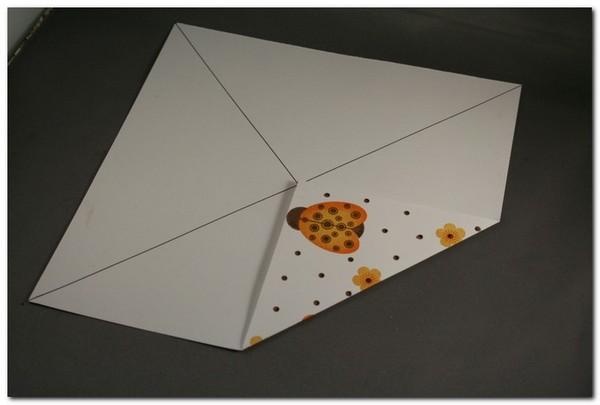 Быстрая коробочка оригами