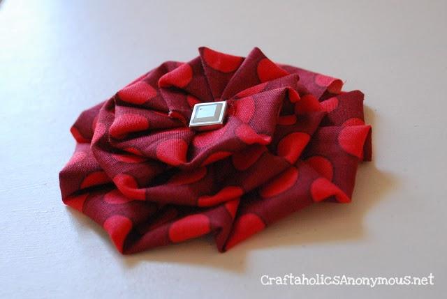 Цветы из ткани своими руками, 10 простых способов. МК oblacco 64