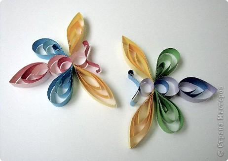 квиллинг бабочки из бумаги