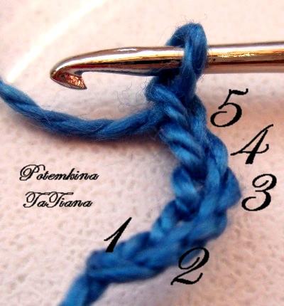 вязание из бисера жгут