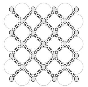 Схема шкатулки из бусин