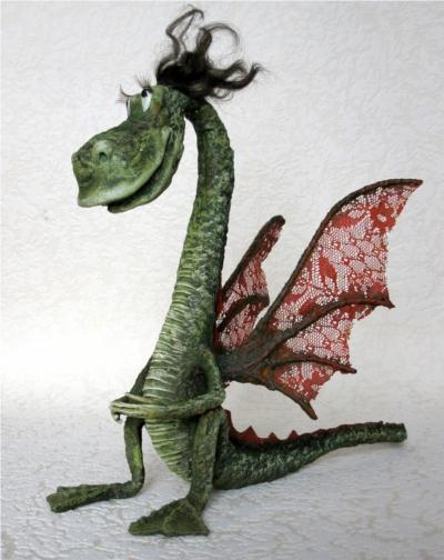 дракон из бисера схема для начинающих - Вышивка бисером.