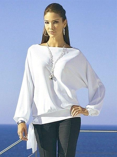 блузка свободной формы