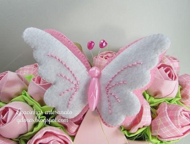 Бабочка на елку своими руками