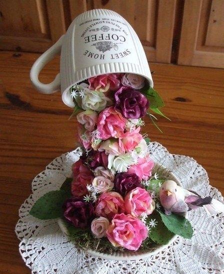 Чаша цветов