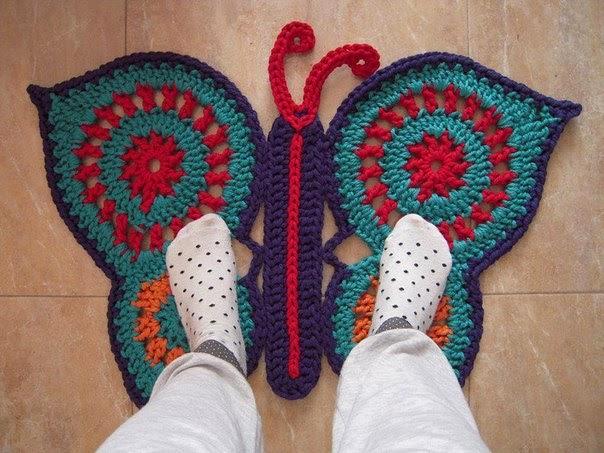 Коврик-бабочка