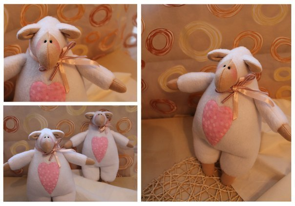 Декоративная овечка своими руками