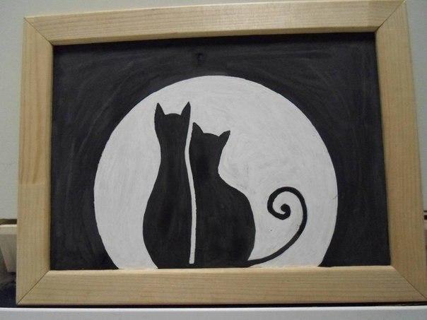 Картина из фасоли