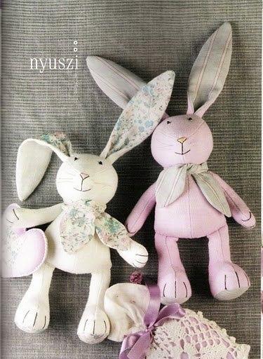 игрушка зайцы