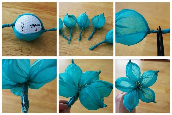 Как сделать бумажные цветы своими руками из гофрированной бумаги 53