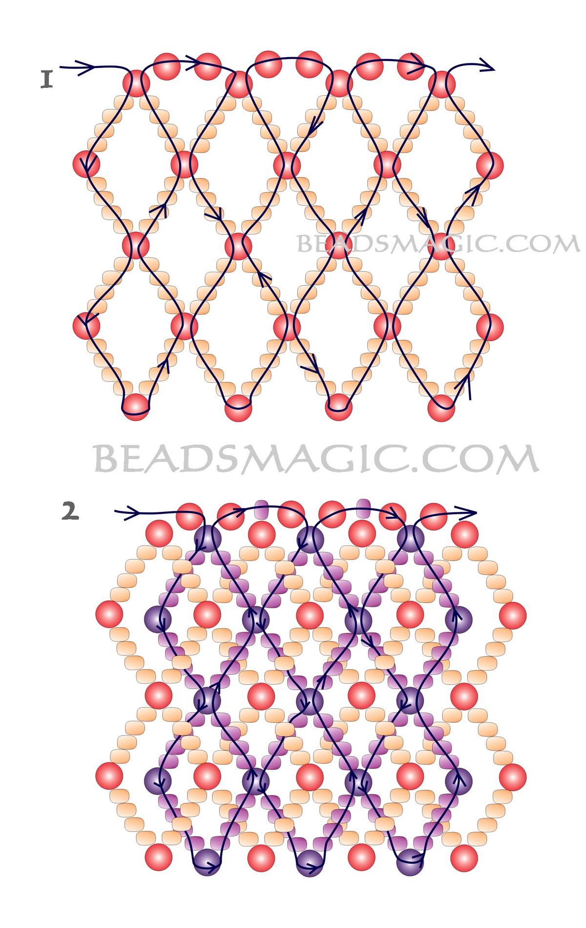 free-beading-necklace-pattern-tutorial-2