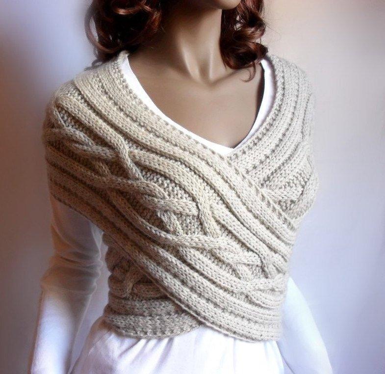 шарф-жилет
