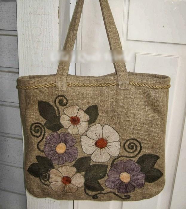 сумка с вышивкой