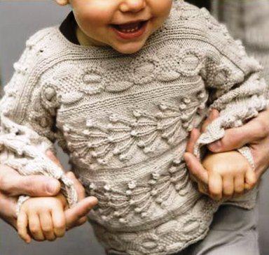 свитер для малыша