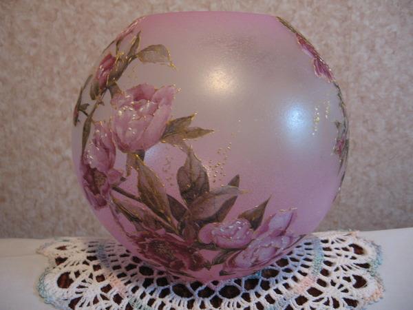 Матовая ваза