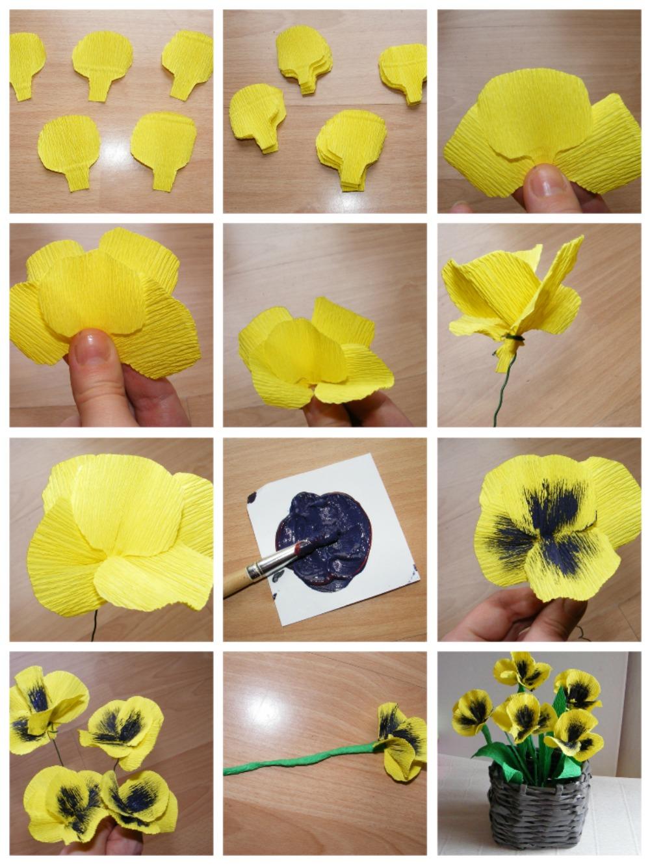 Как сделать розу из гофрированной бумаги своими руками? 58