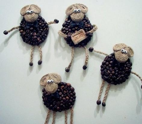 кофейные овечки