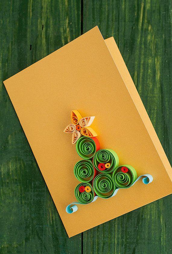 открытки квиллинг