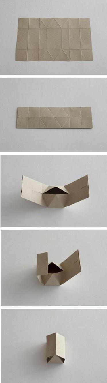 упаковка в виде домика