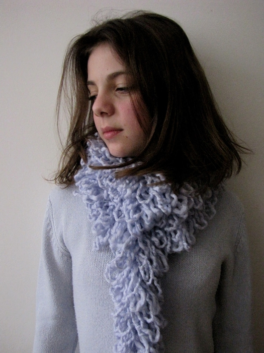 шарф без вязки