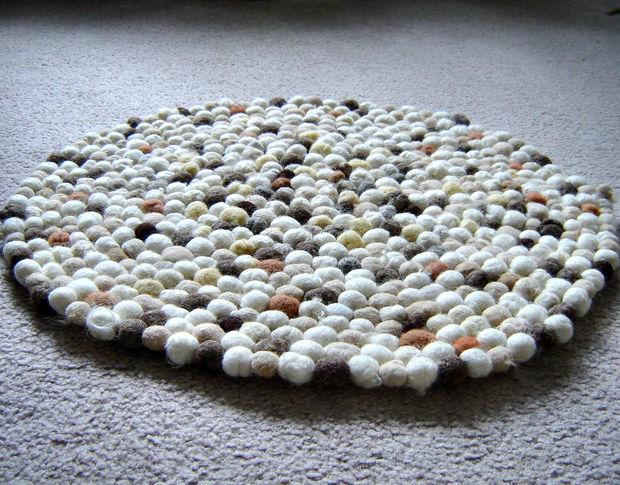 коврик из шариков