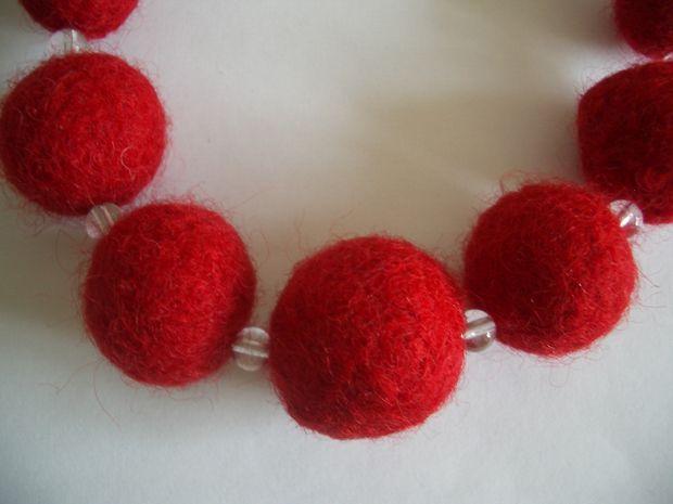 шерстяные шарики