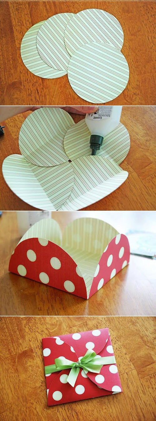 как сделать бумажный конверт