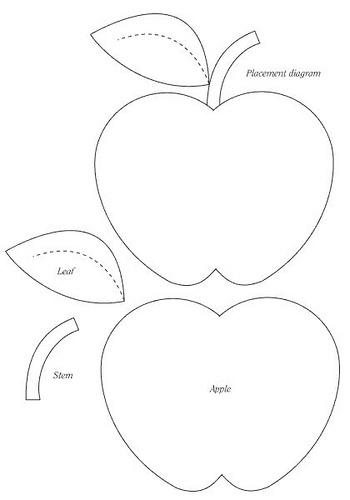 Как сшить яблоко своими руками выкройки