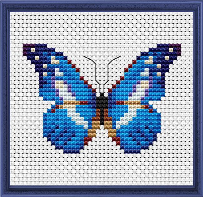 Бабочки. Схемы для вышивки