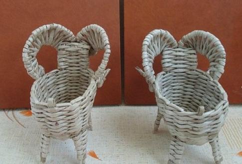 плетеный барашек