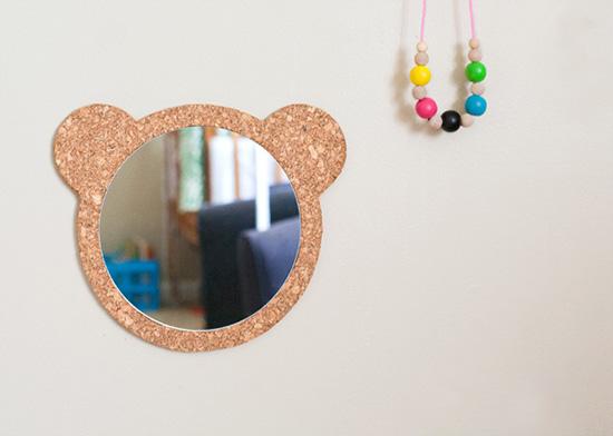 зеркало мишка