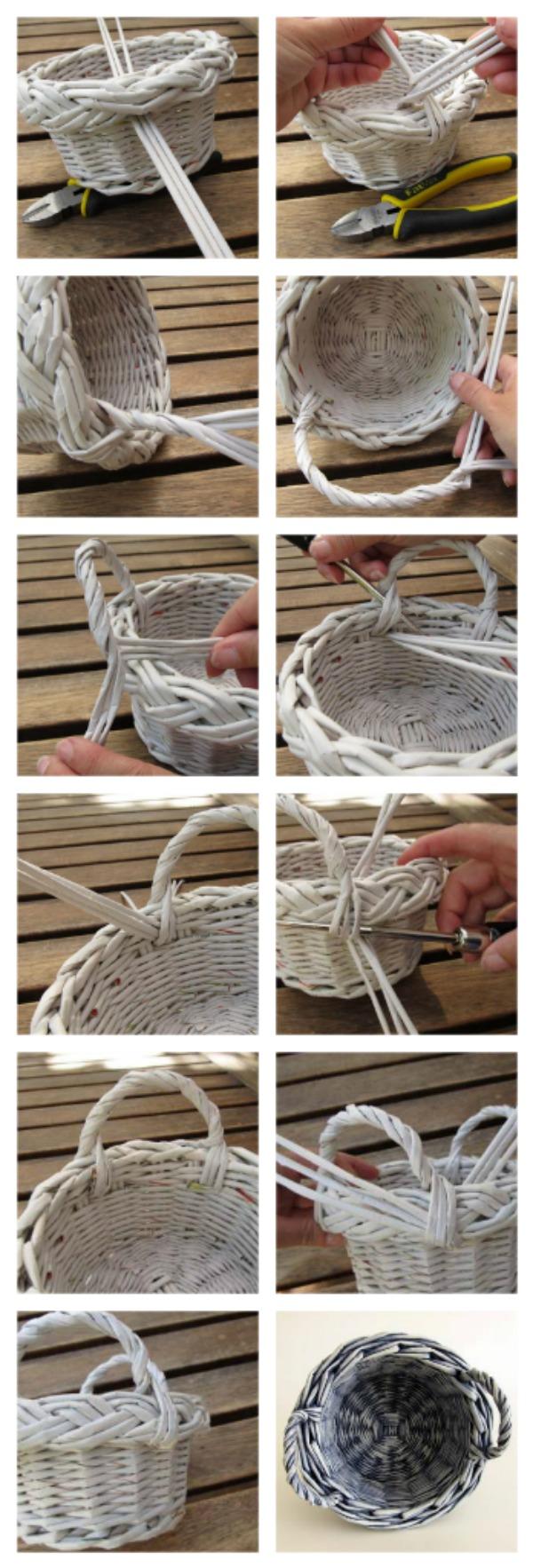 плетеные ручки для корзины