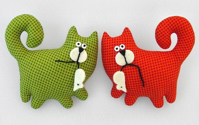 игрушки коты
