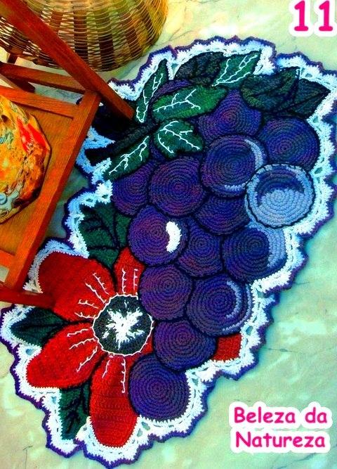 коврик виноград